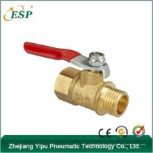 zhejiang esp laiton couleur bmf valve, robinet à boisseau sphérique, valve