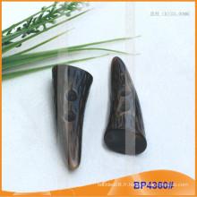Bouton de résine à corne de qualité pour manteau BP4360