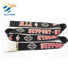 Impresión de calidad superior Logo Black Belt