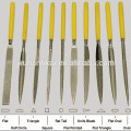 electroplated diamond triangle file for glass ceramic