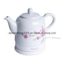 Théière en céramique bouilloire électrique, thé sans fil de l'eau, 1500ml