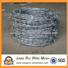 galvanized barbed wire coils