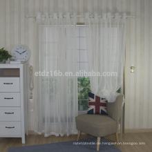 Neue Ankunft Polyester schiere Voile Fenstergewebe