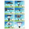 35W-55W BridgeLux 5000K garden led lights led garden lighting pole diameter 90mm install park, garden
