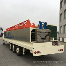 Large Span metal curve Mobile Arch Roof Forming Machine