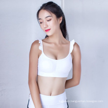 Hot selling breathable quick dry comfortable lovely sport bra yoga clothes