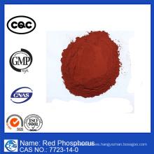 Reactivo de laboratorio Polvo retardador de llama Fósforo rojo