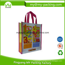 Promotion Shopping PP Laminated Nonwoven Polypropylene Bag