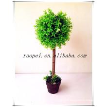 2014 China new decorative artificial topiary ball tree