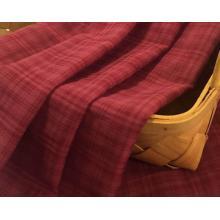 Cotton Rayon Dyed Check Shirt Fabric