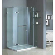 Cabine de douche oscillant sans cadre Hg-1782