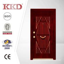 80mm Turkish Steel Wood Armored Door JKD-TK931 for Entrance Use