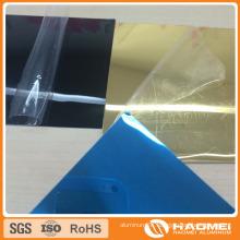 Filmed Polished Rolling Aluminium Mirror Coil Strip for Lighting
