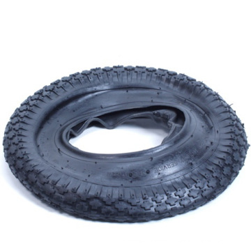 Common Quality Tire and Tub for Wheel Barrow (400-8)