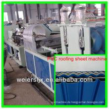 PVC, PMMA, Schaum PVC drei Schichten Wellblech, das Maschine herstellt