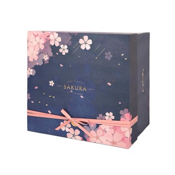 Sakura Pink Paper Packaging Box
