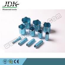 Série de brocas de diamante para pedras e concreto