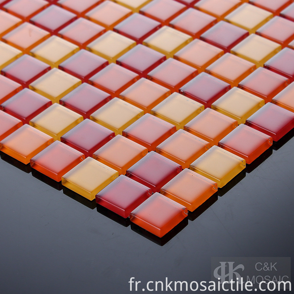 Multi Coloured Glass Mosaic Tiles