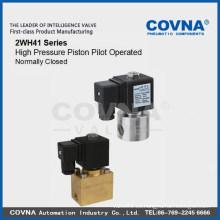 Bajo precio 250 bar Electroválvula de alta presión para agua