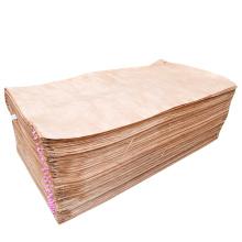 Hot Selling Red Face Veneer Decorative Natural Wood Okoume Veneers Gabon