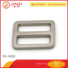 Factory direct sale high end square belt buckle for fashion bag accessories