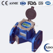 Salida de pulso ultrasónico Industrial UWM XDO-15-300 medidor de flujo de agua