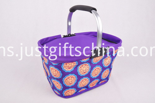 600D Folding Cooler Shopping Basket (5)