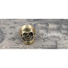 Moda anillo cráneo modelado Retro Copper Color 19 #