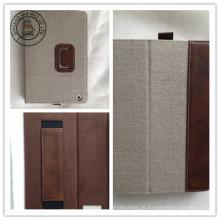 Caixas de couro do PC da tabuleta do plutônio do cânhamo para iPad