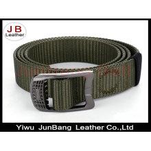 Cinto militar tático de nylon para homens Cinto de correia ajustável