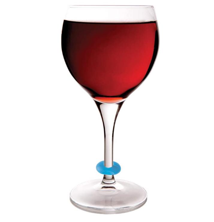 Silicone Wine Glasses Marker