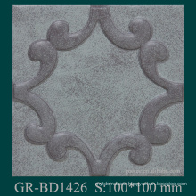 Baroque style building materials aluminum extrusion profile for home decotion