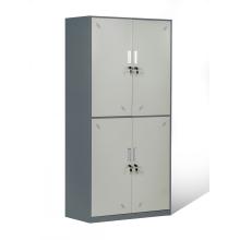Casiers de garde-robe en métal de 2 casiers de porte de niveau 4