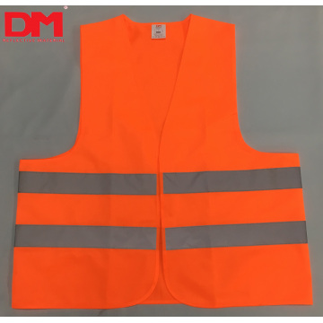 ANSI Class 2 Hi-vis Orange Safety Vest