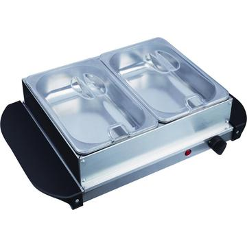Table Top 2 Pan Buffet Food Warmer