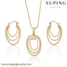 62736 Xuping New style jewelry 18k stud earring and pendant