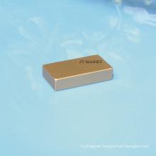 High Quality Block NdFeB Neodymium Magnet with Everlube
