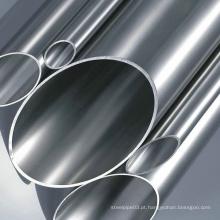 Tubo decorativo de aço inoxidável ASTM A554 Prime