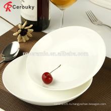 Превосходное качество плита фарфоровая белая плита фруктов