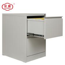 Armário de armazenamento lateral da mobília do metal do escritório do KD mini com gavetas