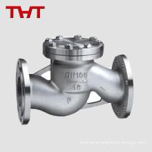 wafer lift 2pc spring api ss316 check valve 8' 2500lb