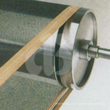 Fabricação de tapete de fibra de vidro revestido com PTFE