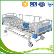 Einstellbares manuelles Krankenhausbett 3 Kurbel