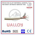 Câble de compensation de thermocouple isolé en PVC de type N