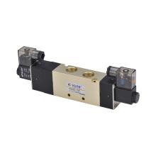 4V400 Series Alloy Solenoid valve/Two-position Five-way /Aluminum Alloy Pneumatic Solenoid Valve