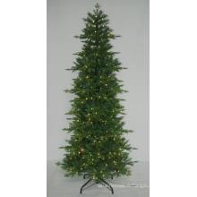 Arbre de Noël artificiel réaliste avec une lumière à cordes Décoration LED multi couleur (7ABT)