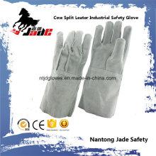 Gant de travail en soudure pour sécurité industrielle en cuir véritable