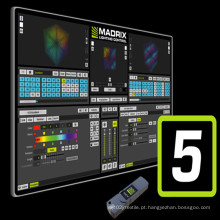 Mais novo software Madrix 5 para controle de iluminação
