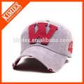 fashion custom embroidery pattern distress baseball cap trucker cap
