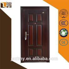 Porta de loja de folha personalizada interiores/exteriores de inox